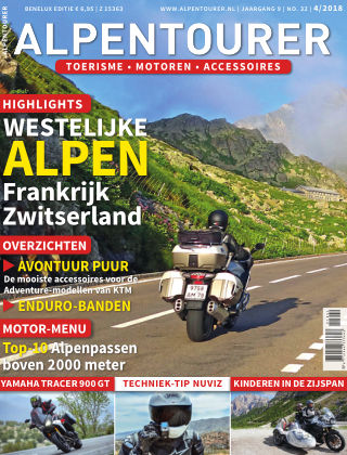 ALPENTOURER – motoren • tourisme • vakantie 4/2018