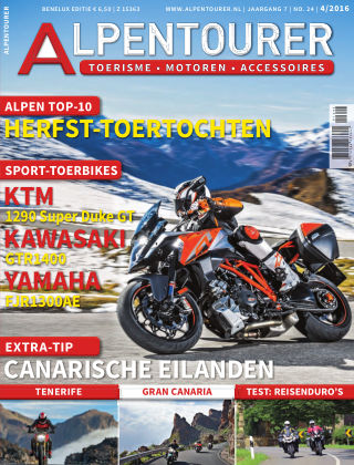 ALPENTOURER – motoren • tourisme • vakantie 4/2016