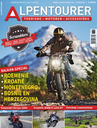 ALPENTOURER – motoren • tourisme • vakantie 1/2016