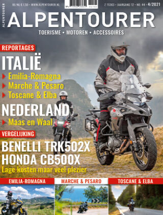 ALPENTOURER – motoren • tourisme • vakantie 04-2021
