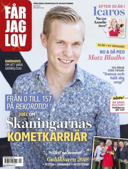 FÅR JAG LOV August 28, 2018 00:00
