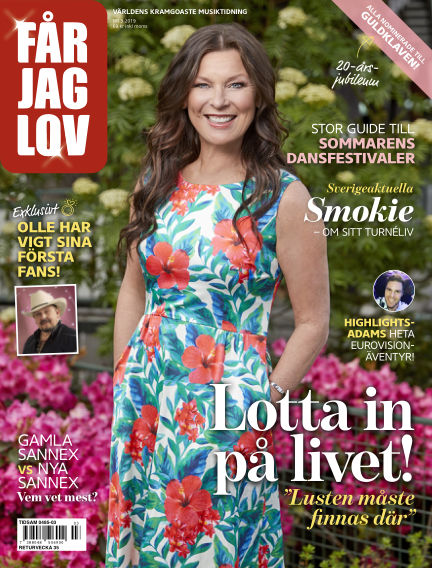 FÅR JAG LOV June 20, 2019 00:00