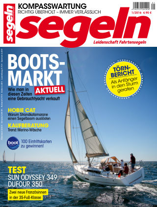 segeln Nr. 1 2016