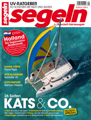 segeln Nr. 8 2016