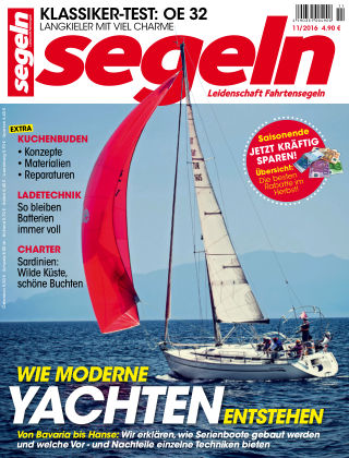 segeln Nr. 11 2016