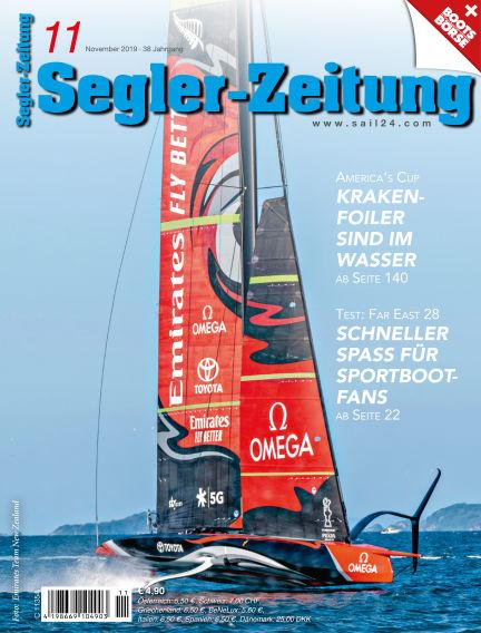 Segler-Zeitung October 22, 2019 00:00