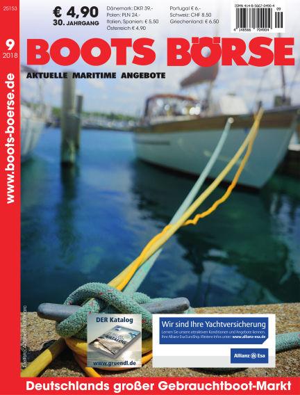 Boots Börse September 01, 2018 00:00