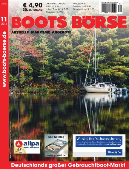 Boots Börse October 25, 2018 00:00