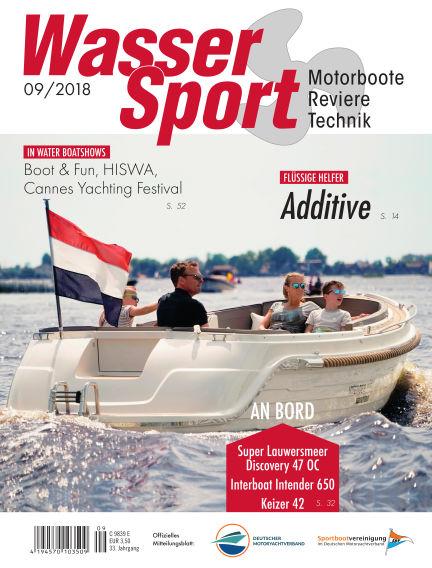 MotorBoot Magazin August 25, 2018 00:00