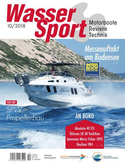 MotorBoot Magazin September 19, 2018 00:00