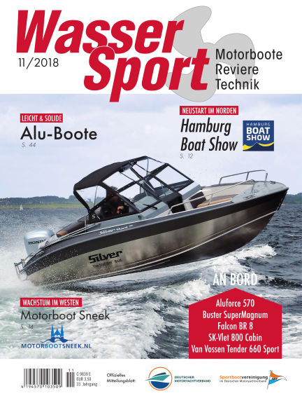 MotorBoot Magazin October 19, 2018 00:00