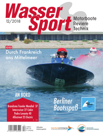 MotorBoot Magazin November 13, 2018 00:00