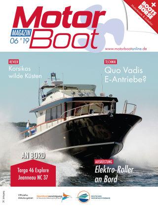 MotorBoot Magazin NR. 06 2019