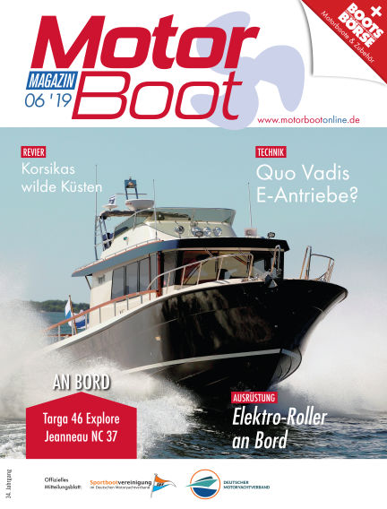 MotorBoot Magazin May 22, 2019 00:00