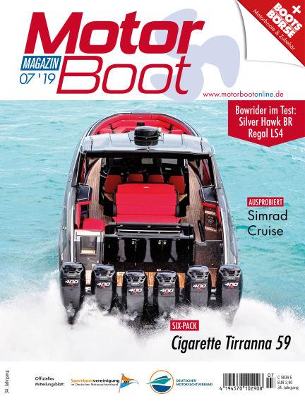 MotorBoot Magazin June 19, 2019 00:00