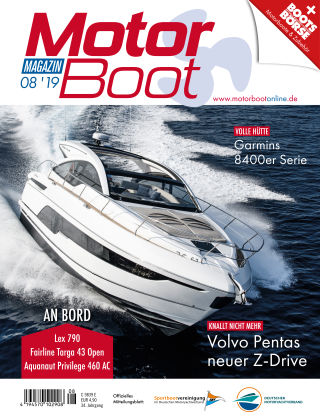 MotorBoot Magazin 8-2019