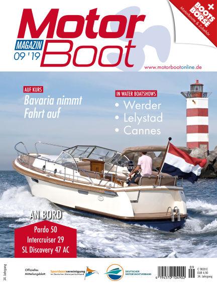 MotorBoot Magazin August 21, 2019 00:00