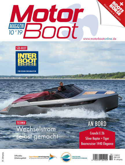 MotorBoot Magazin September 18, 2019 00:00