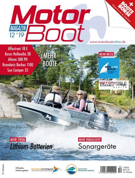 MotorBoot Magazin November 20, 2019 00:00