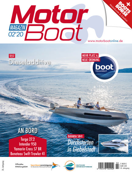 MotorBoot Magazin January 15, 2020 00:00