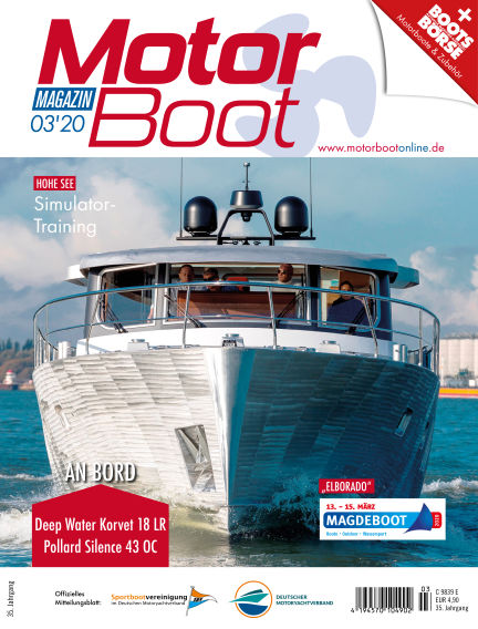 MotorBoot Magazin February 19, 2020 00:00