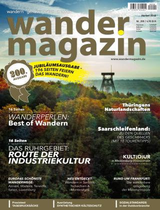 Wandermagazin 200, Herbst 2018