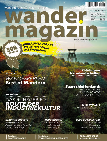 Wandermagazin September 13, 2018 00:00