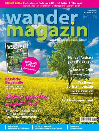 Wandermagazin 202, Frühling 2019