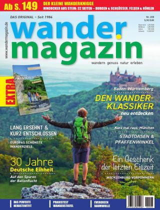 Wandermagazin 208 (Herbst 2020)
