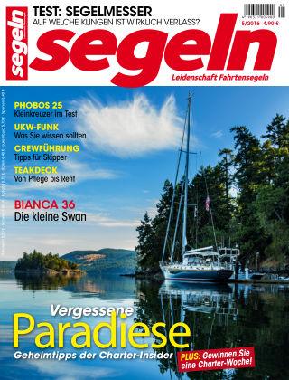 segeln Nr. 5 2016