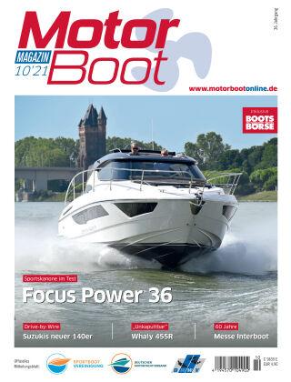 MotorBoot Magazin 10-2021