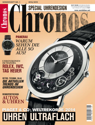 Chronos Uhrendesign 14/15