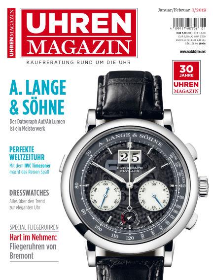 Uhren Magazin  December 15, 2018 00:00