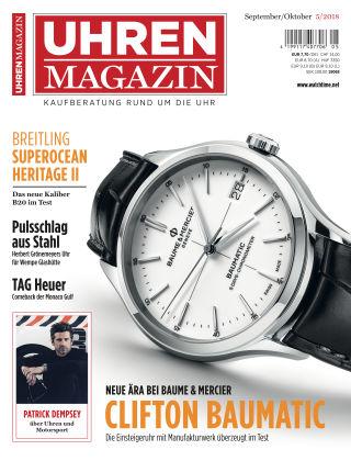 Uhren Magazin  5/2018