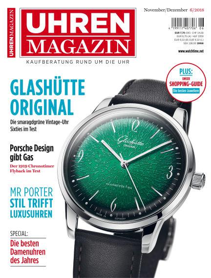 Uhren Magazin  October 26, 2018 00:00