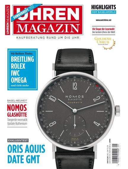 Uhren Magazin  March 22, 2019 00:00