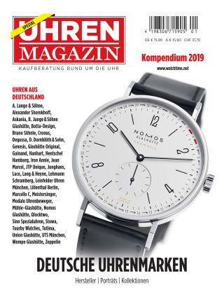 Uhren Magazin  Deutsche Marken 2019