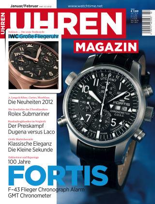 Uhren Magazin  1/2-2012