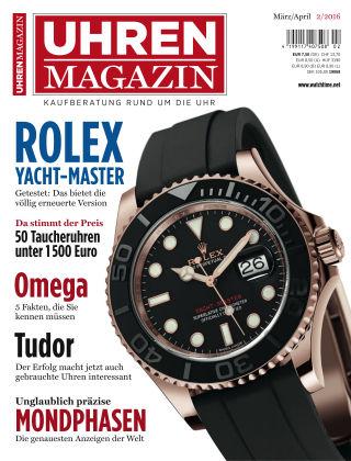 Uhren Magazin  2-2016