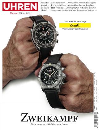 Uhren Magazin  10-2012