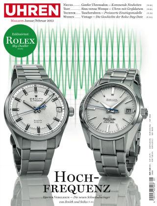 Uhren Magazin  1-2013