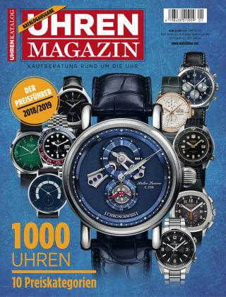 Uhren Magazin  Preisführer 18/19