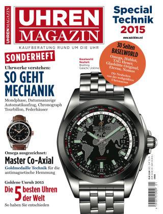 Uhren Magazin Special Technik 2015