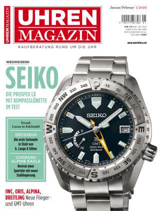 Uhren Magazin  01-2020