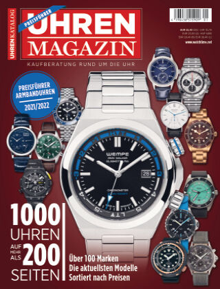 Uhren Magazin Uhren Katalog 2022