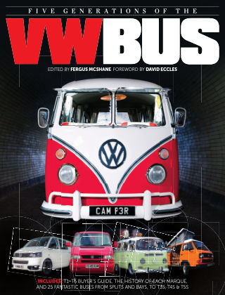 Five Generations of the VW Bus Issue 01