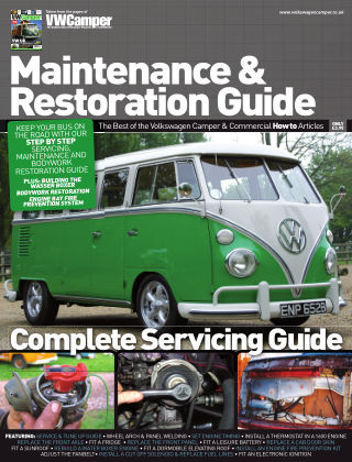 Volkswagon Camper Maintenance & Restoration Guide Issue 01