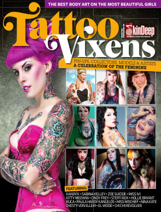 Tattoo Vixens Issue 01