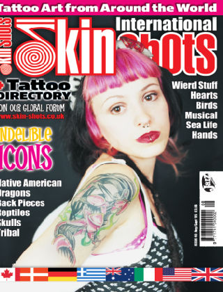 Skin Shots Tattoo Collection Issue 40