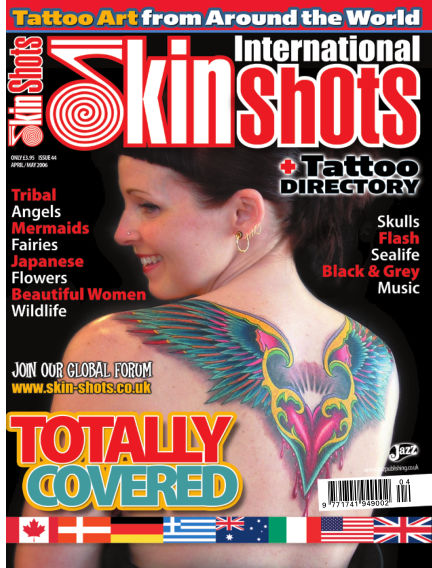 Skin Shots Tattoo Collection April 01, 2019 00:00